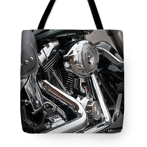 Harley Chrome Tote Bag