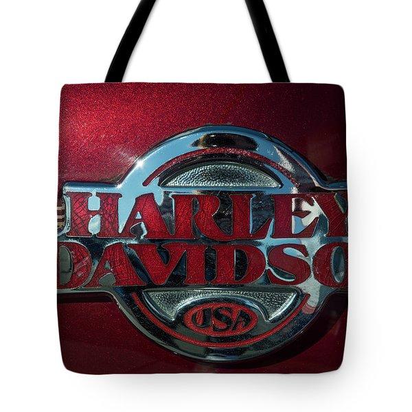 Harley Davidson 12 Tote Bag