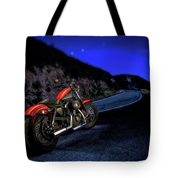Tote Bag featuring the photograph Harley Davidson Nightster by YoPedro