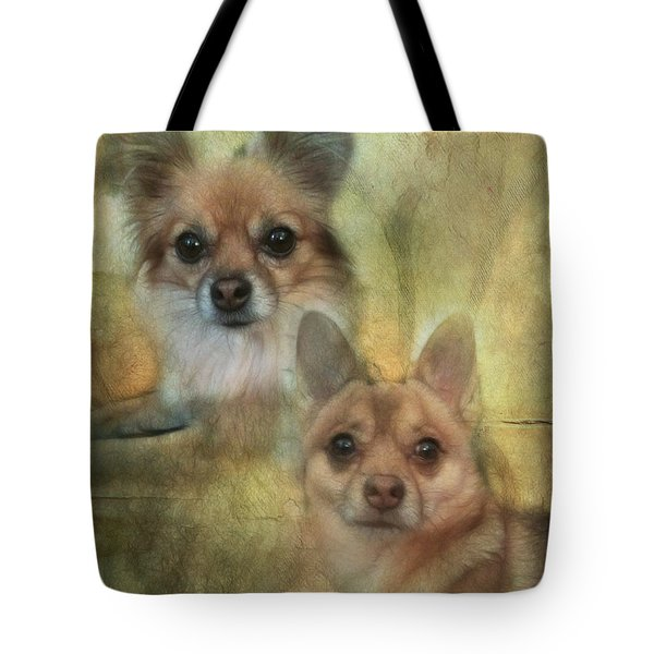 Harley Girl N Bear Tote Bag