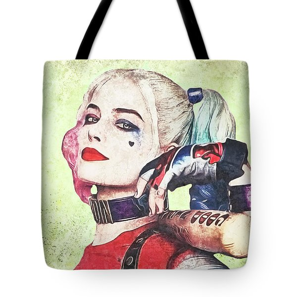 Harley Is A Crazy Woman Tote Bag