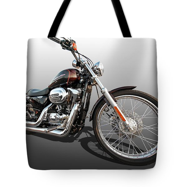 Harley Sportster Xl1200 Custom Tote Bag
