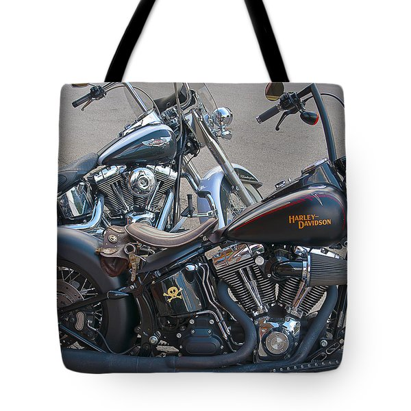 Harleys Tote Bag