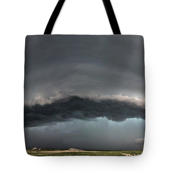 Harlowton, Montana, Supercell Tote Bag