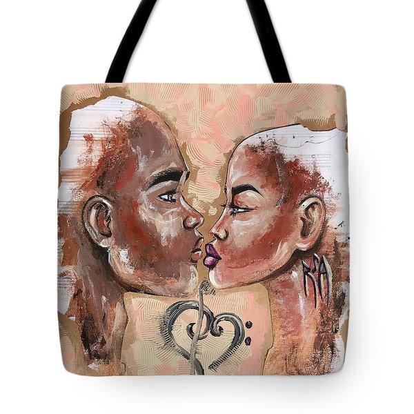 Harmonies Tote Bag
