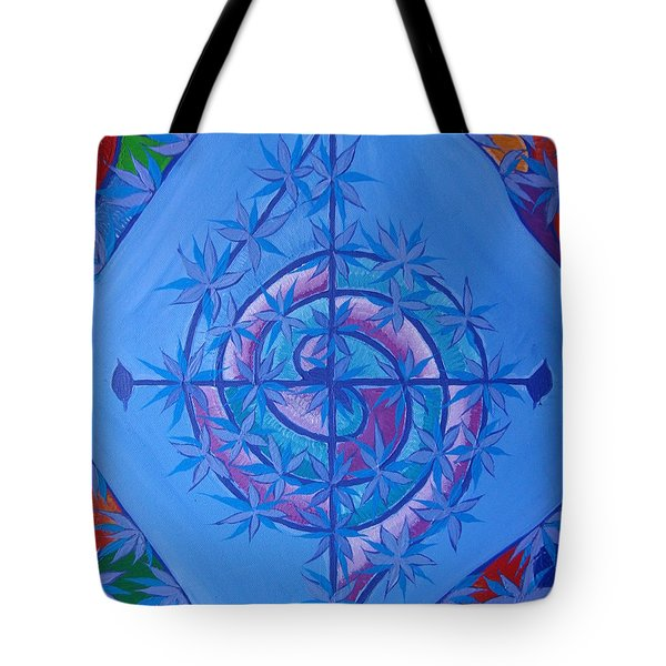 Harmonious Life Cross Tote Bag