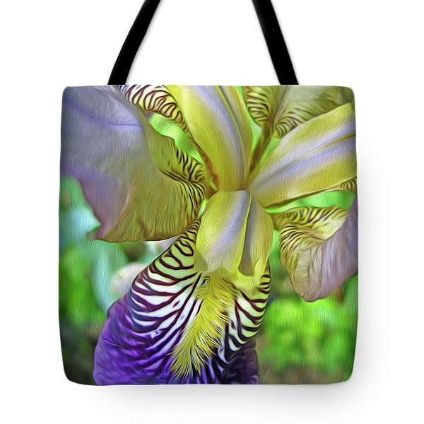 Harmony 4 Tote Bag by Lynda Lehmann
