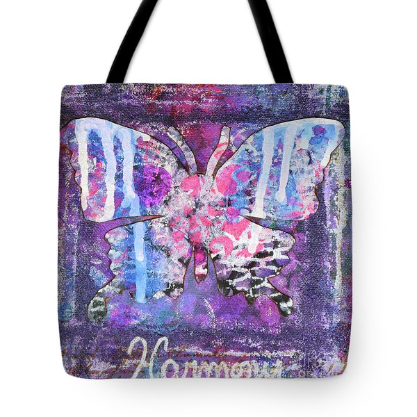 Harmony Butterfly Tote Bag