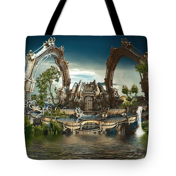 Harmony House Tote Bag
