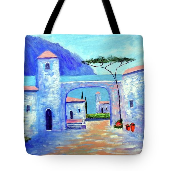 Harmony Of Como Tote Bag