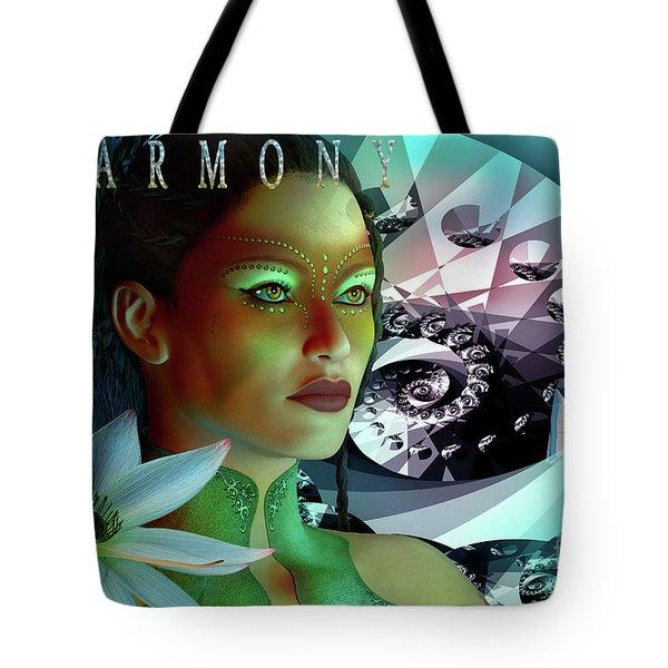 Harmony Tote Bag by Shadowlea Is