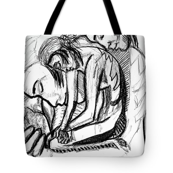 Harmony  Study For The Emancipation Of A Woman Tote Bag