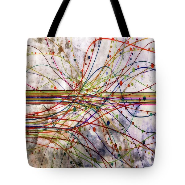 Tote Bag featuring the digital art Harnessing Energy 1 by Angelina Vick