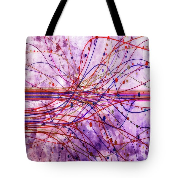 Tote Bag featuring the digital art Harnessing Energy 2 by Angelina Vick