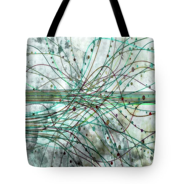 Tote Bag featuring the digital art Harnessing Energy 3 by Angelina Vick