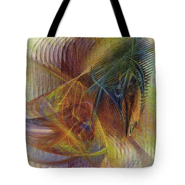 Harnessing Reason Tote Bag by John Robert Beck