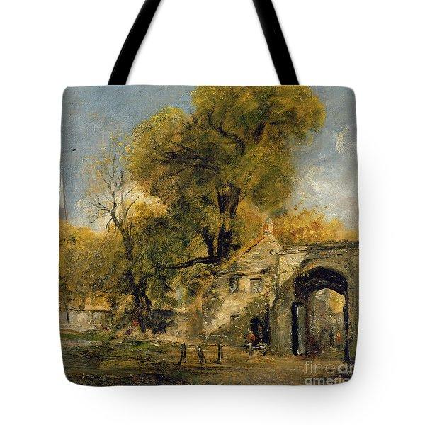 Harnham Gate - Salisbury Tote Bag
