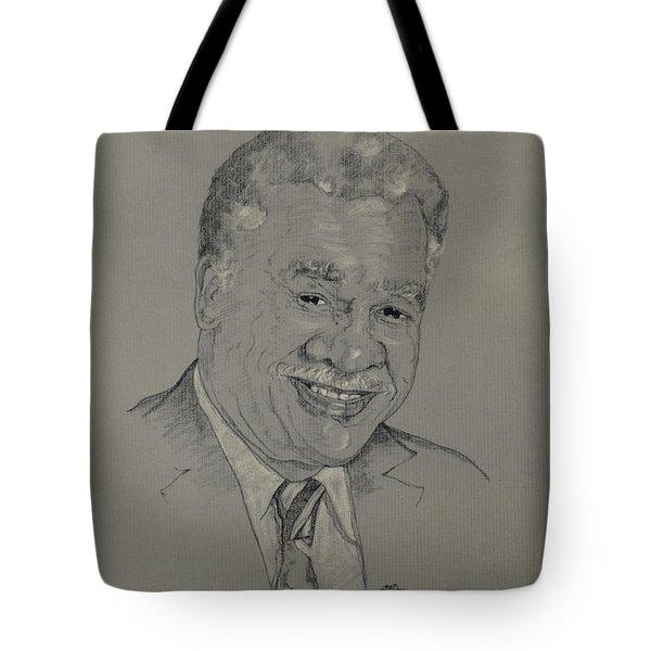 Harold Washington  Tote Bag