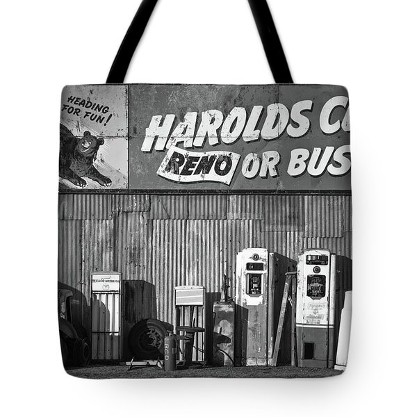 Harold's Club Tote Bag by Marius Sipa