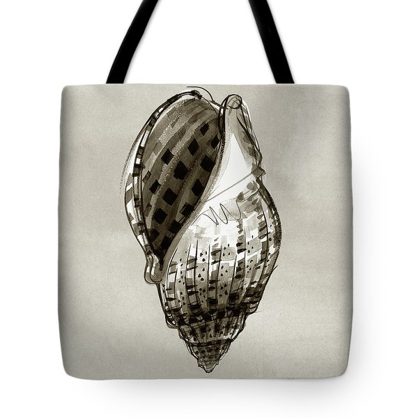 Harp Shell Tote Bag