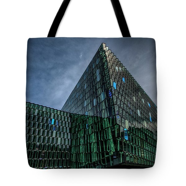 Harpa Tote Bag by Wade Courtney