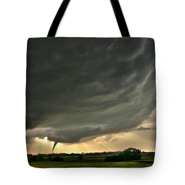 Harper Kansas Tornado Tote Bag