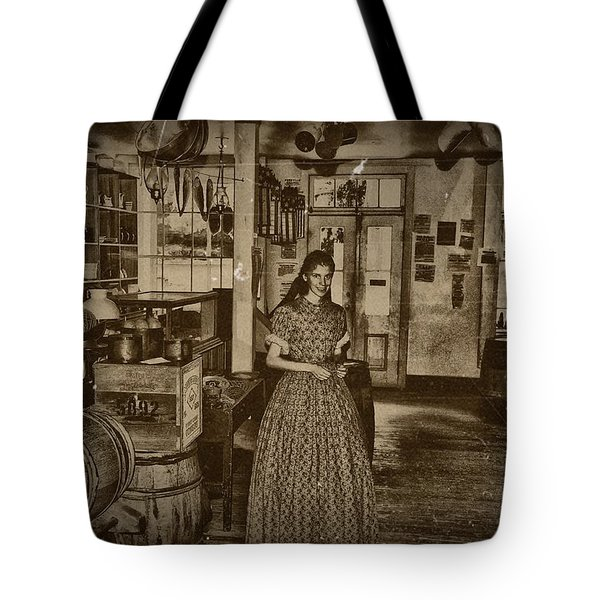 Harpers Ferry General Store Tote Bag by Bill Cannon