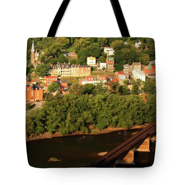 Tote Bag featuring the photograph Harpers Ferry by Mitch Cat