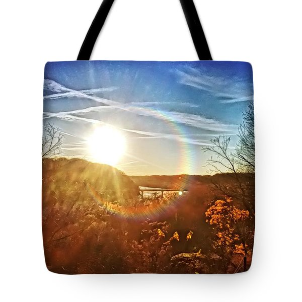 Harpers Ferry Sunset Tote Bag