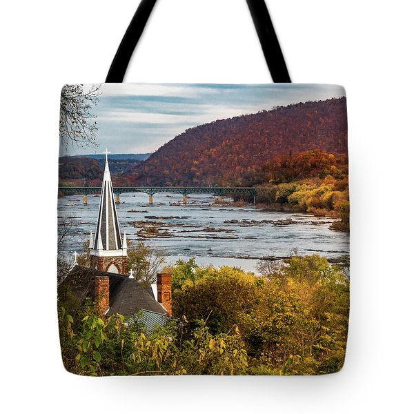 Harpers Ferry, West Virginia Tote Bag