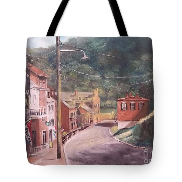 Harpers Ferry West Va Tote Bag