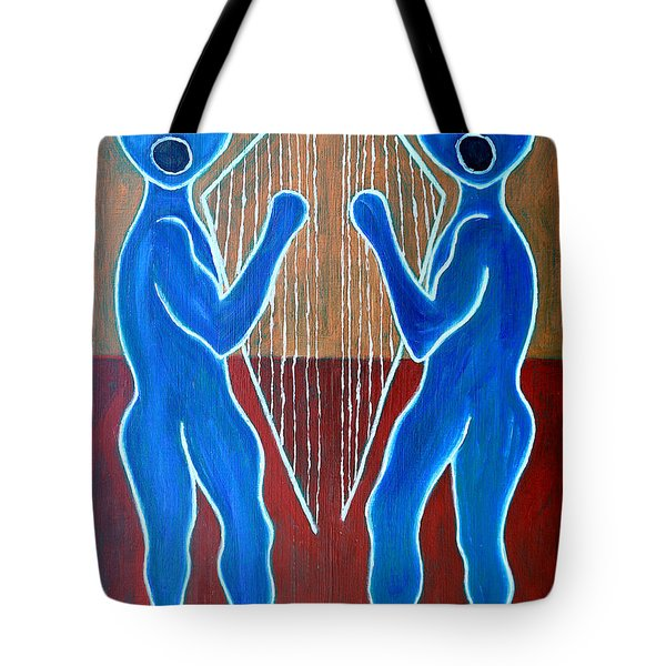 Harps And Voices Tote Bag by Patrick J Murphy