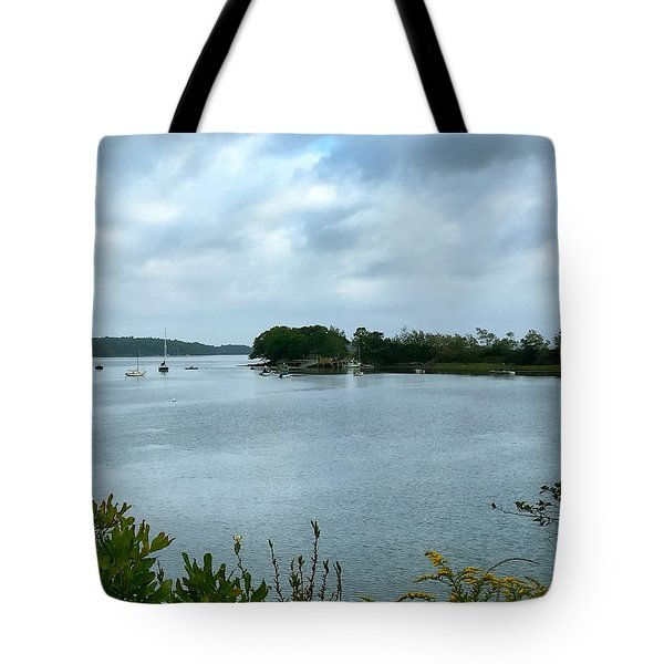 Harpswell, Maine No. 1 Tote Bag by Sandy Taylor