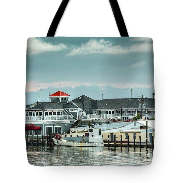 Harris Crab House Tote Bag