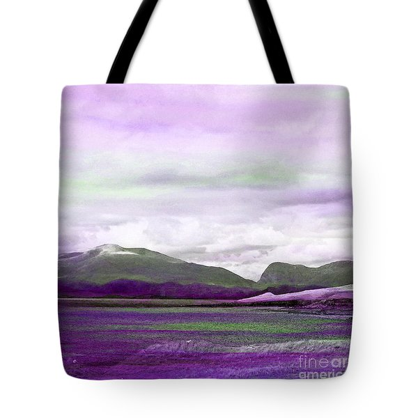 Harris In Violet Tote Bag
