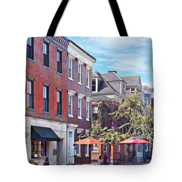 Harrisburg Pa - Coffee Shop Tote Bag