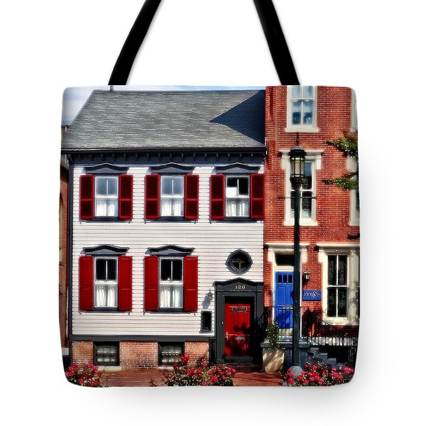 Harrisburg Pa - Roses On State Street Tote Bag