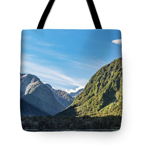 Tote Bag featuring the photograph Harrison Cove Sunlight by Gary Eason