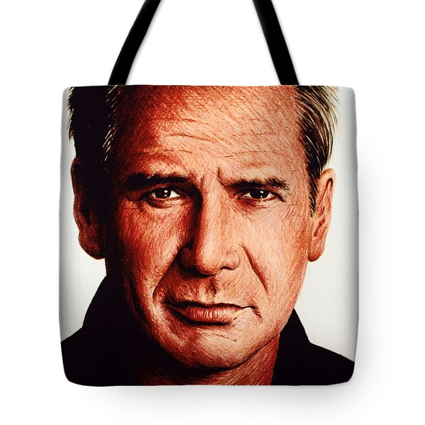Harrison Ford Tote Bag by Andrew Read