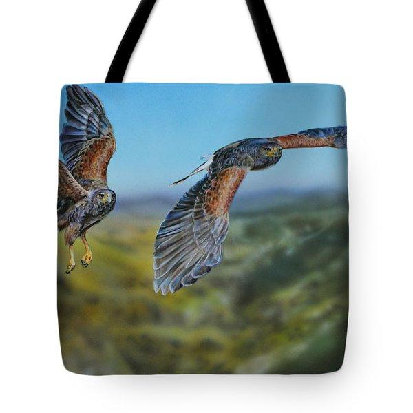 Harris's Hawks Tote Bag