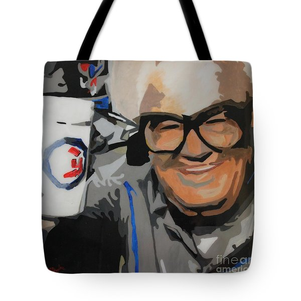 Harry Caray Tote Bag