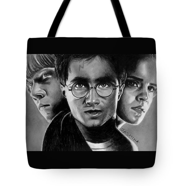 Harry Potter Fanart Tote Bag by Jasmina Susak
