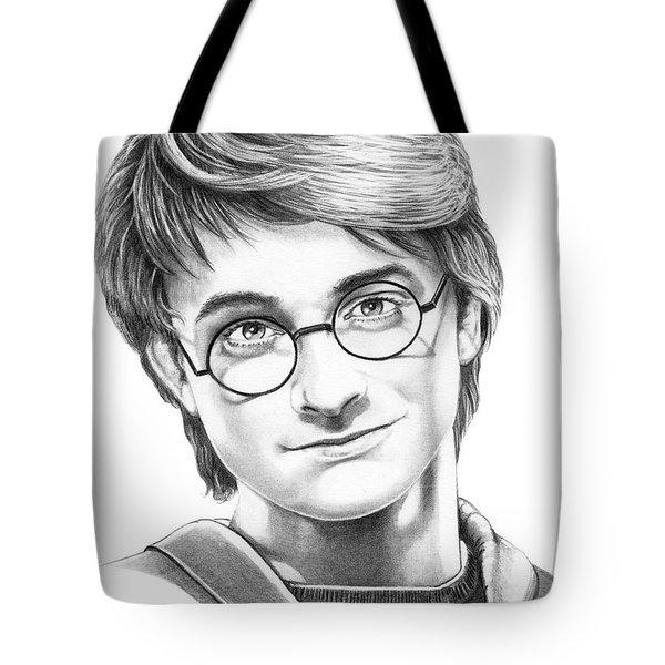 Harry Potter Tote Bag by Murphy Elliott