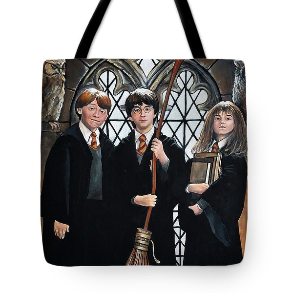 Harry Potter Tote Bag by Tom Carlton