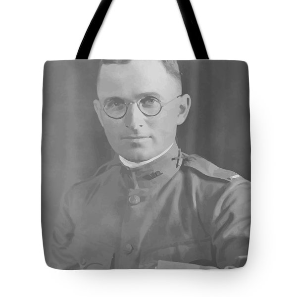 Harry Truman During World War One Tote Bag by War Is Hell Store