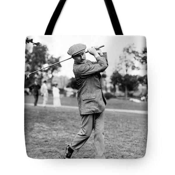 Harry Vardon - Golfer Tote Bag by International  Images