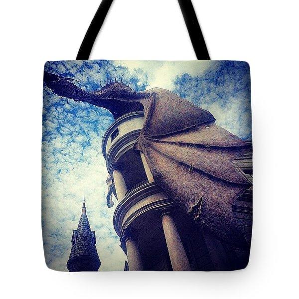 A Real Floridian Dragon Tote Bag