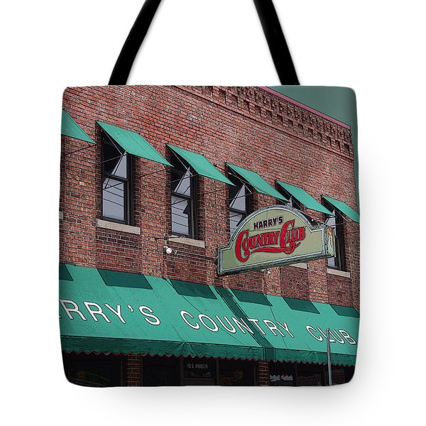 Harry's Country Club Tote Bag