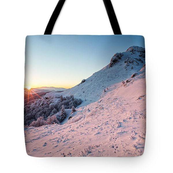 Harsh Sunshine Tote Bag by Evgeni Dinev