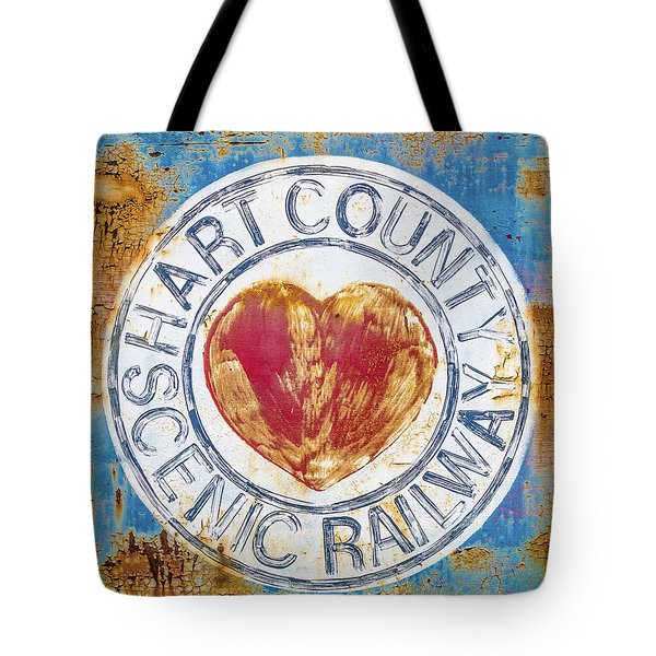 Hart County Scenic Railway Tote Bag by Lynne Jenkins